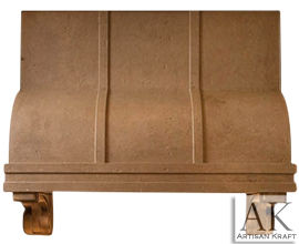 Atlanta Cast Stone Kitchen Range Hood