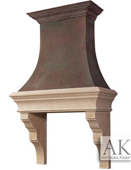 Berkeley Kitchen Cast Stone Hood