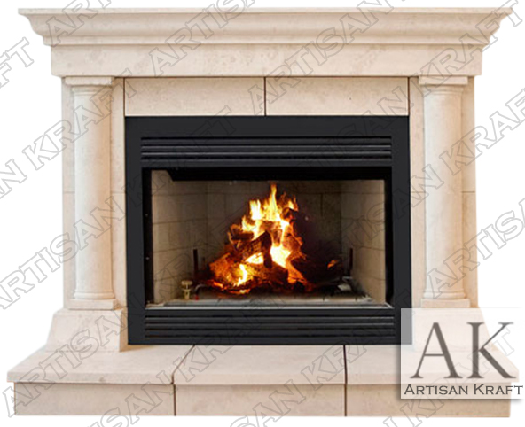 Tuscan Cast Stone Mantel Fireplaces Surround Italian