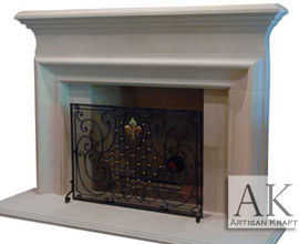 Clermont French Fireplace Mantle