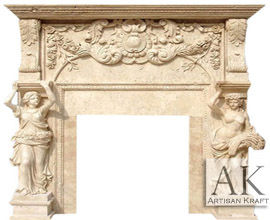 Diana Statue Marble Fireplaces