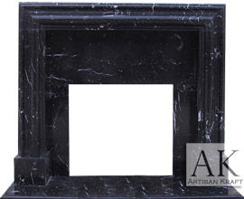 Francisco Marble Fireplace