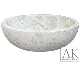 Oval Marble Bathtub
