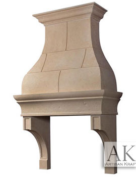 Jamestown Custom Kitchen Hood GFRC