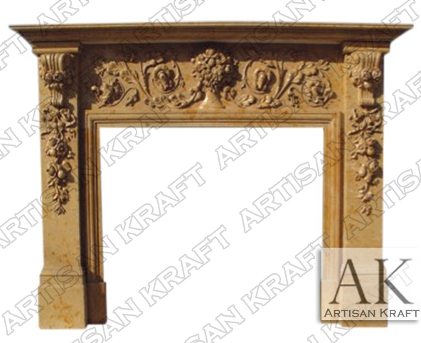 New Jersey Marble Fireplace Mantel Store Showroom