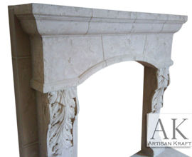 Scottsdale Cast Stone Mantel