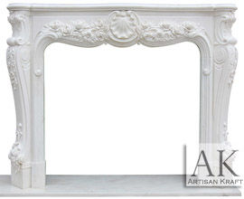 Victoria Antique Marble Fireplace