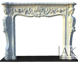 Victorian White Marble