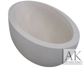 Limestone Oval Soaking Tub