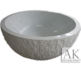 Round Stone Bathtub