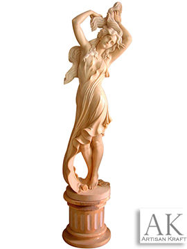 Beautiful Woman Marble Statue