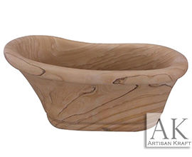 Old World Sandstone Slipper Tub