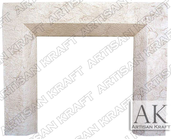 Beveled-Cast-Stone-Fireplace-Mantel