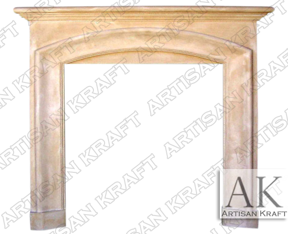 Catalina-Cast-Stone-Mantel