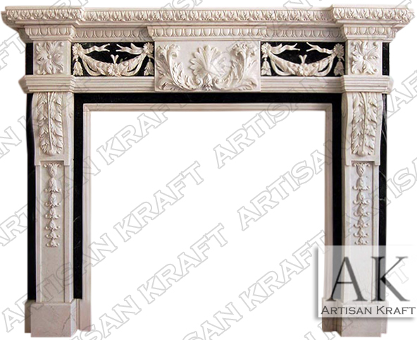 Delaware-Marble-Carved-Mantel-Surround