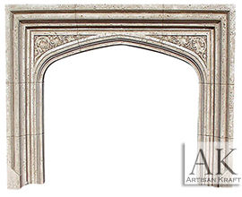 English Tudor Fireplace