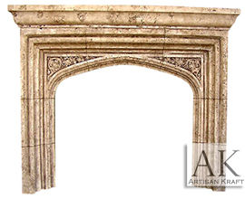English Tudor w/ Mantel