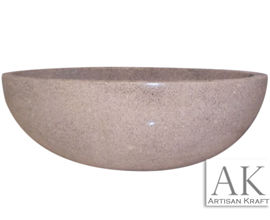 Granite Oval Bathtub | Round Custom Tub