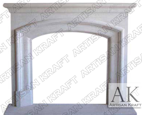 Marlboro Cast Stone Fireplace