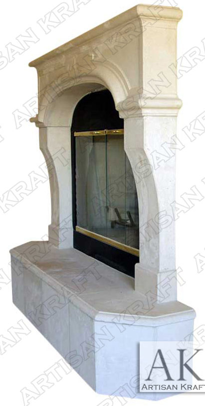 Nevada-Cast-Stone-Fireplace-Mantel