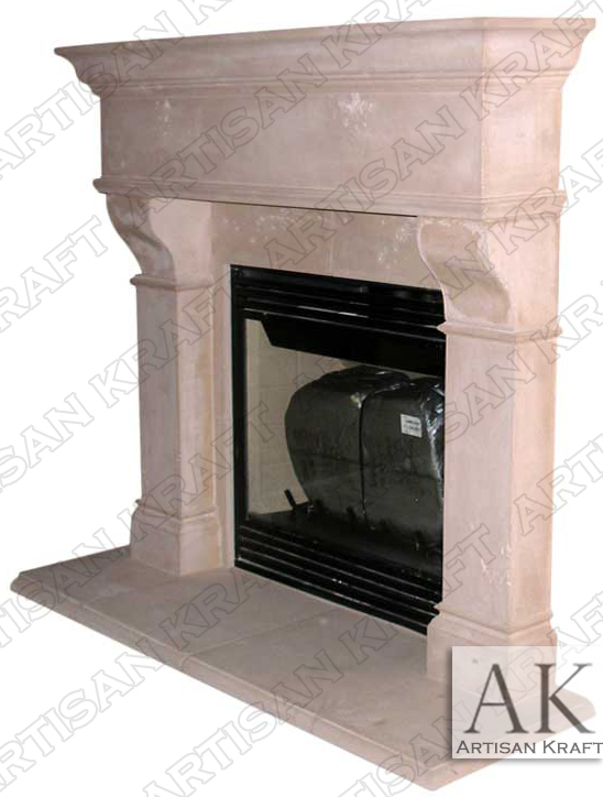 Rochester-Cast-Stone-Fireplace-Mantels