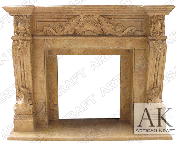 Verona Antique Fireplace Mantel Surrounds – Artisan Kraft b4fb7b118e
