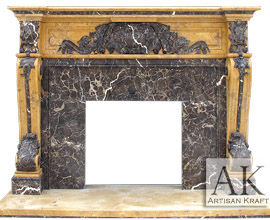 Verona Regal French Fireplace