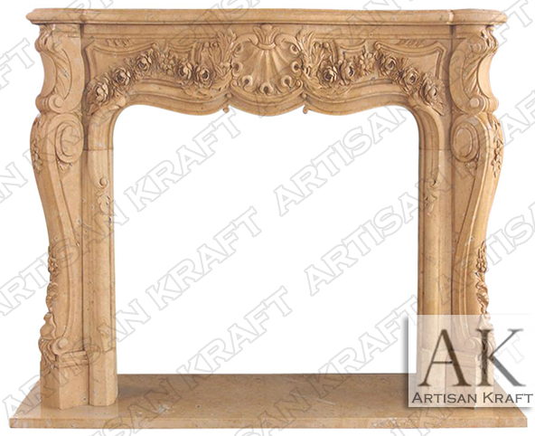 Victoria-French-Style-Fireplace-Mantel