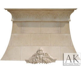Westport Limestone Kitchen Range Hood