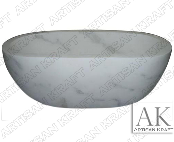 angel-white-double-ended-marble-tub