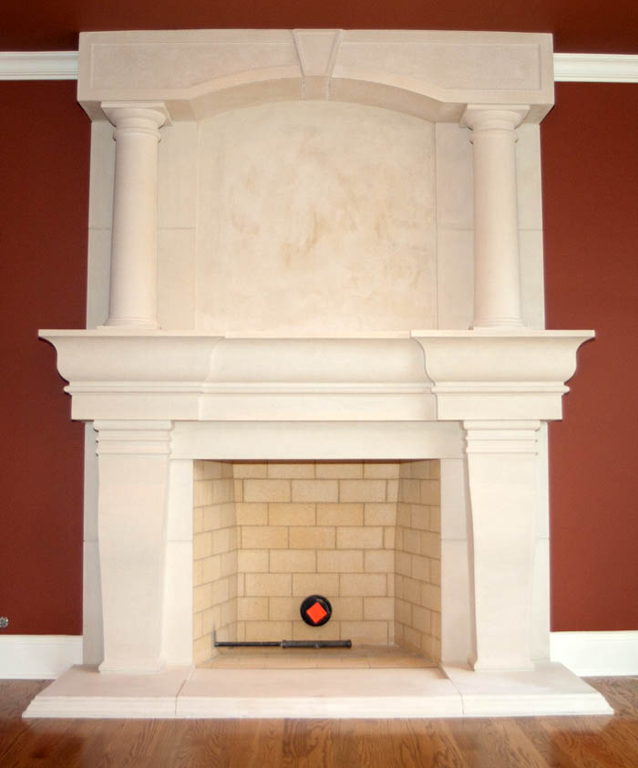 mantel types shelf and mantels fireplace attachment cast fire pits fireplaces stone place of