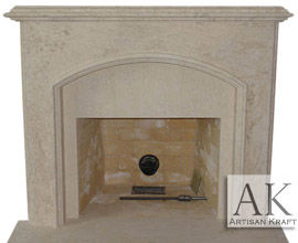 Avalon Fireplace Mantel