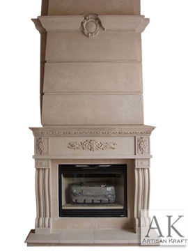 Denver Marble Overmantel Fireplace Mantels