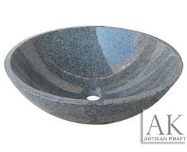Gray Moon Granite Sink