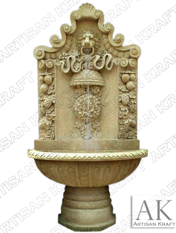 marble-fountain-lion-head