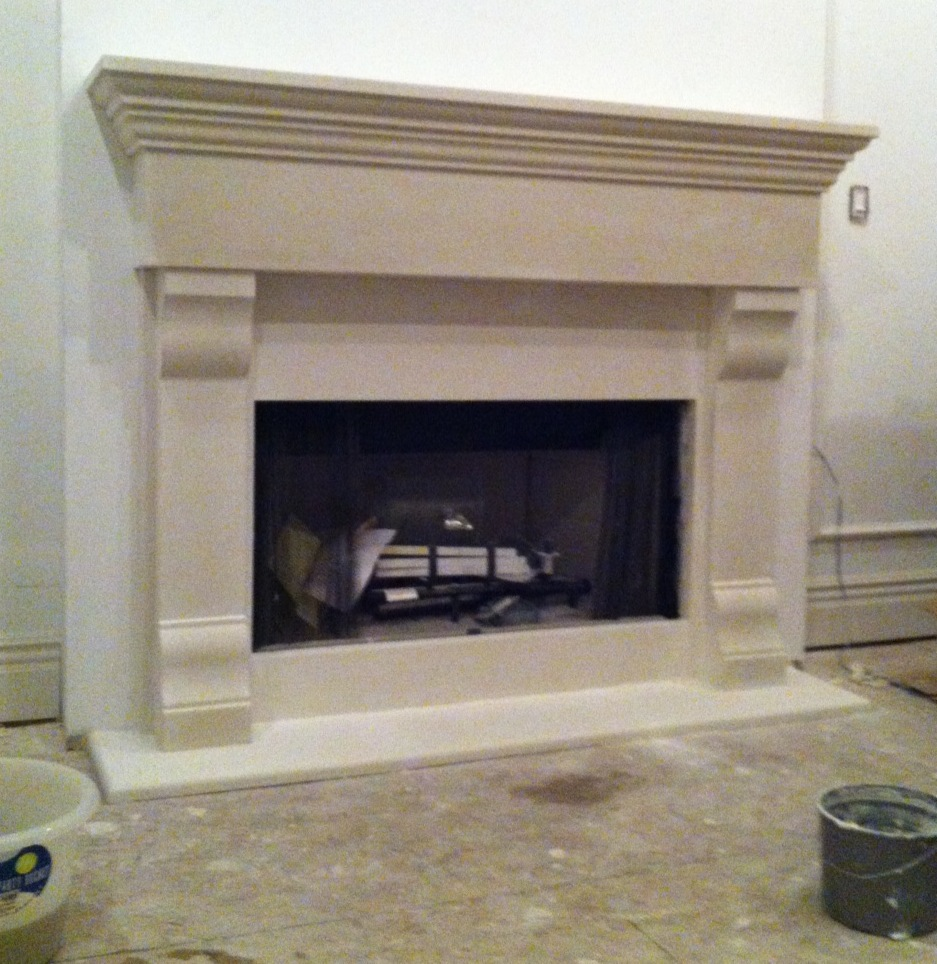 Current Projects Fireplace Mantels Columns Surrounds